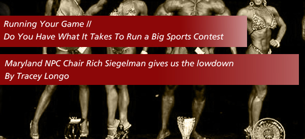 Do You Have What It Takes To Run a Big Sports Contest?