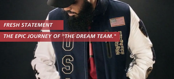 Make a Statement: Nike Dream Team Destroyer Jacket