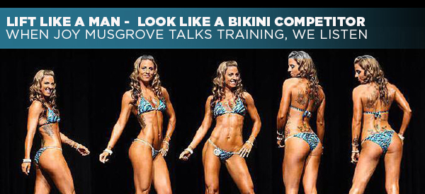 Lift Like A Man — Look Like A Bikini Competitor