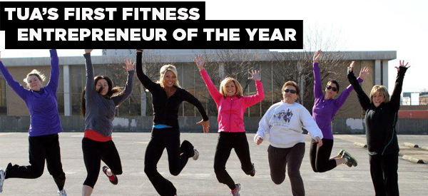 Want to Create and Take a Fitness Business National? Ask TUA's First Fitness Entrepreneur of the Year