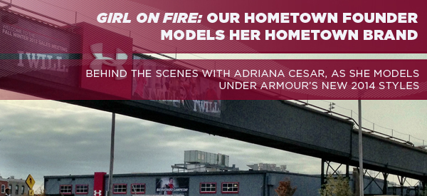 GIRL ON FIRE: Our Hometown Founder Models Her Hometown Brand