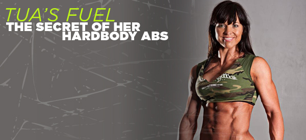 THE SECRET OF HER HARDBODY ABS