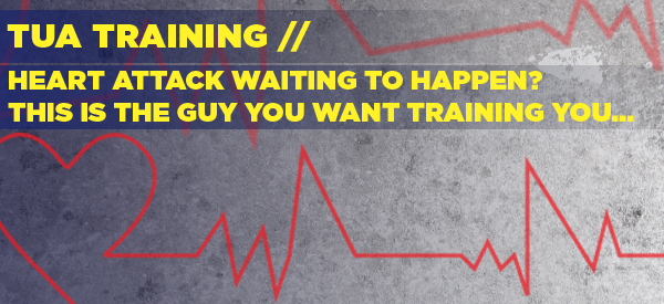 HEART ATTACK WAITING TO HAPPEN? THIS IS THE GUY YOU WANT TRAINING YOU