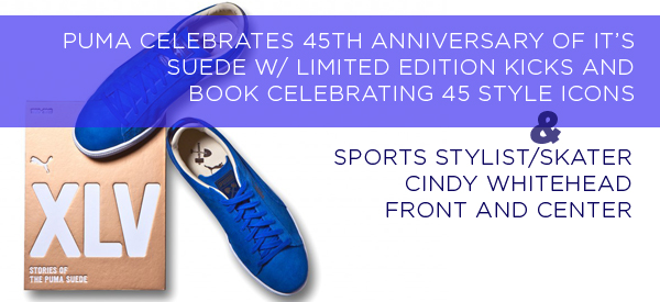 PUMA Celebrates 45th Anniversary of it's Suede W/ Limited Edition Kicks and Book