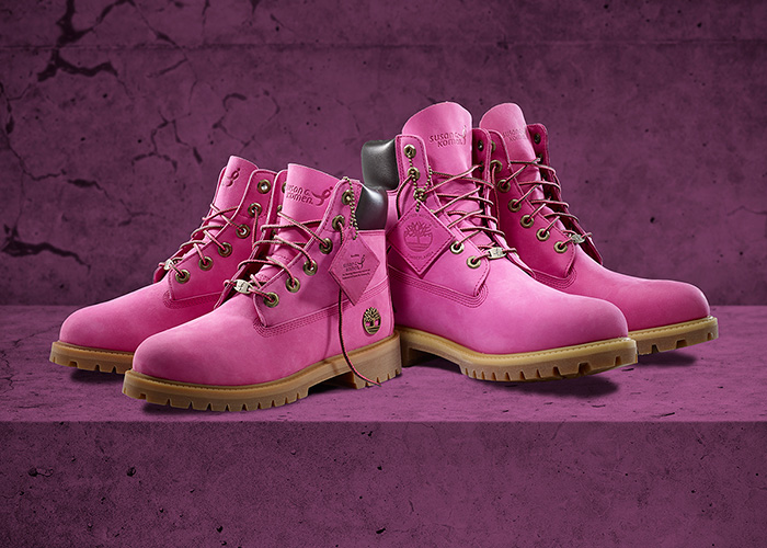66eb2207e37a Timberland x Susan G. Komen for Breast Cancer Awareness