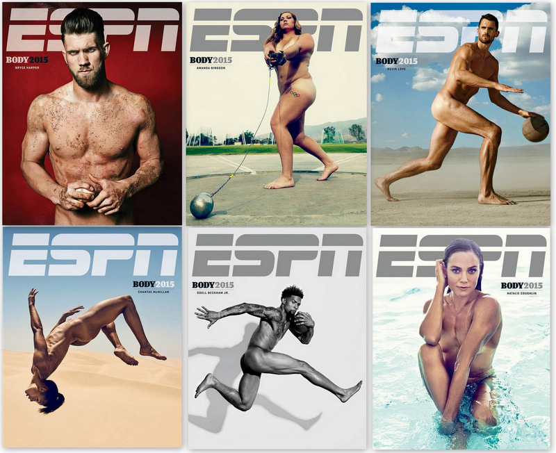 ESPN 2015 Body Issue – Bodies We Want Revealed