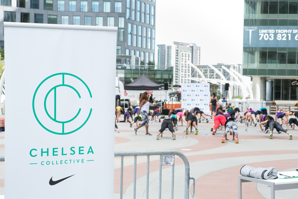Grand Opening Chelsea Collective Tysons Corner x Nike Women NTC